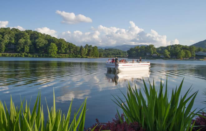 Lake Junaluska Boat Ride