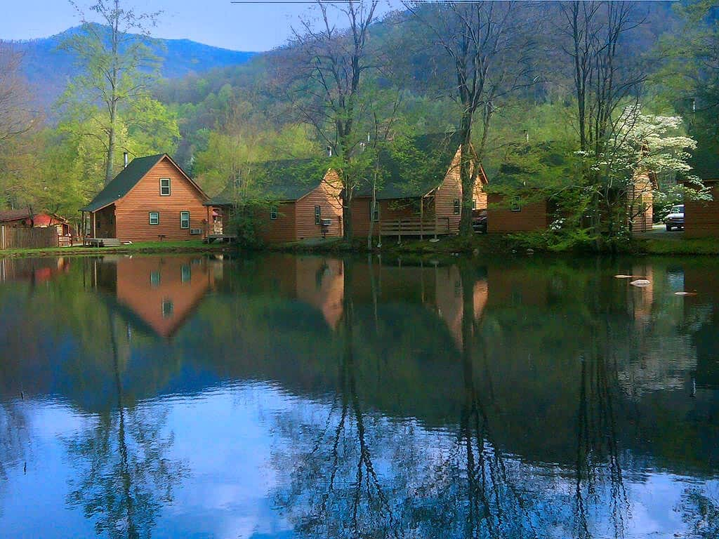 watch youtube retreat north walch cabin nc in maggie creekside cabins rentals carolina valley